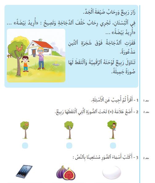 Pdf كتاب أرافق طفلي في العربية والر ياضيات والإيقاظ العلمي للسنة